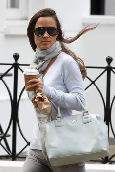 Pippa Middleton Leather Bowler Bag