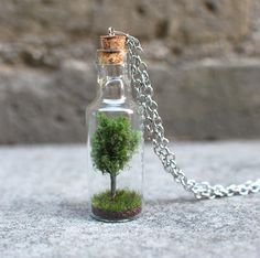 Tree in a Bottle Necklace | Tophatter