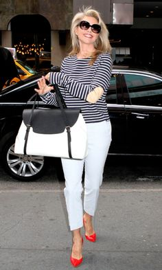 christy brinkley Street Style   fashion review catch up on this weekend s fashion christie brinkley ...