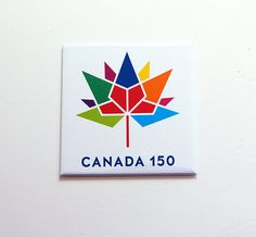 Canada 150 Magnet, Canada 150 logo, Canada Souvenir, Fridge magnet, Canada Day, Canada's 150th birthday, Large Canada Magnet (7479) by KellysMagnets on Etsy Canada 150 Logo, Canada Day, Toronto City, Name Search, Happy Birthday, Names, Community Service, Logos, Pride