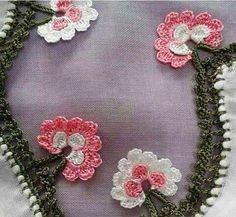 125 Tane Tığ Oyaları Yazma Kenarları En İyi Oyalar Hepsi Birbirinden Güzel Yaprak Çiçeği Tığ Oyası