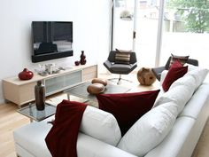 Contemporary Living-rooms from Cathy Hobbs on HGTV