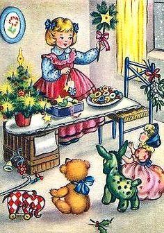 .1950 Christmas Card