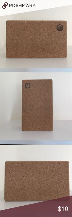 Yoga block - cork - new New and unused cork yoga block Other