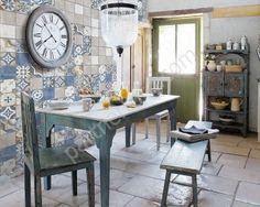 Каталог керамической плитки Нефрит Керамика коллекция Лофт, кухня
