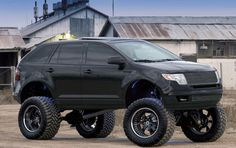 Off-Road Looking the Edge - Accessories & Modifications - Ford Edge Forum Ford Edge Accessories, 4 Door Sports Cars, Little Truck, Arm Sleeve Tattoos, Acura Tl, Mustang Convertible, Lifted Ford, Toyota Corolla, Hot Wheels