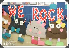 First Grade Blue Skies: For Those About To Rock…Rock Unit