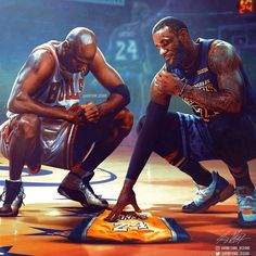 As we continue to remember Kobe & Gigi on this day, here are some more of our favorite tribute pieces from some incredible artists around the world. James Basketball, I Love Basketball, Basketball Legends, Basketball Quotes, Lebron James Wallpapers, Nba Wallpapers, Kobe Bryant Michael Jordan, Kobe Bryant Pictures, Jeffrey Jordan