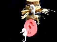 Silikonformen - Silikonform Seepferdchen 3,5cm - ein Designerstück von luflom-design bei DaWanda