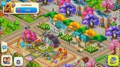 Farm Layout, Hay Day, Animal Crossing, Games, Pictures, Design, Painting, Cheating, Cookie