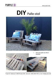 Lav din egen loungestol af en enkelt palle. Se hvordan her