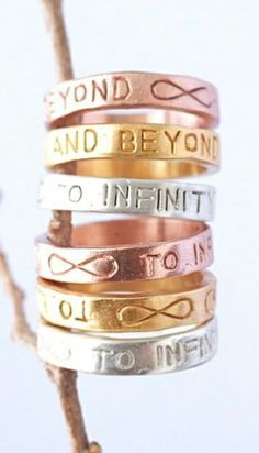 To Infinity & Beyond Rings