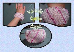 SALE Beautiful Pink Capricho Bracelet / by BeadBoutiquebyLou, £10.00