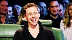 cutest laugh ever! Tom (handsome) Hiddleston