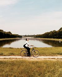 Biking at Versailles  This is one of my FAVORITE things in the world.  If you ever have a chance, you must do it!  Great with kids, too.  Rent bikes down by the canal on the grounds.  Ride around the canal, take small offshoot paths and explore.  Don't forget to ride out to the other palaces.  It makes for a fantastic day!