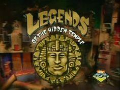 Legends of the Hidden Temple (93-95) Red Jaguars, Blue Barracudas, Green Monkeys, Orange Iguanas, Purple Parrots, or Silver Snakes