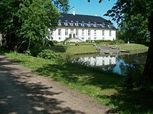 Glorup is a manor house located between Nyborg and Svendborg in the south-east of the Danish island Funen. Rebuilt to the design of Nicolas-Henri Jardin and his pupil Christian Josef Zuber in 1763-65, it is considered one of the finest Baroque complexes in Denmark.