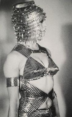 Brigitte Bardot wearing Paco Rabanne