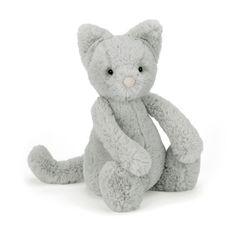 Bashful Kitty Katze Kuscheltier von Jellycat - Bonuspunkte sammeln, auf Rechnung bestellen, DHL Blitzlieferung!
