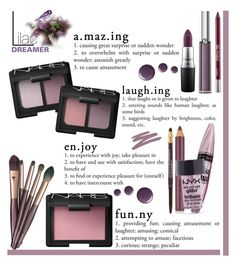 """""""Lilac Dreamer"""" by rasaj ❤ liked on Polyvore featuring beauty, Topshop, Charlotte Tilbury, Lancôme, NARS Cosmetics, Estée Lauder, Maybelline, Mally, Urban Decay and MAC Cosmetics"""