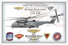 CH-53 12x18 Fully Personalized $45 www.custommilitaryart.com http://stores.ebay.com/custommilitaryart