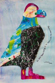 Eric Carle Sculptural Collage- Gr. 8
