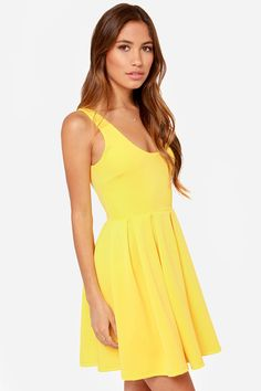 a0b63b8c24 LULUS Exclusive Close to You Yellow Dress