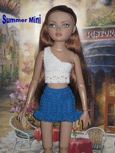 Summer Mini Crochet Pattern For Ellowyne Fits by djemorin on Etsy, $5.99