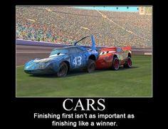 Things Pixar Taught Me:  Disney Pixar Cars - Click photo to see more...