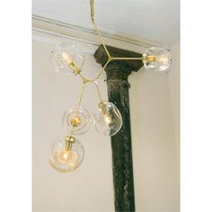 Branching Bubble Chandelier from Lindsey Adelman