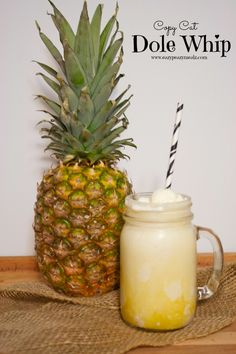 Copy Cat Dole Whip: For when you can't get to the Parks but need a little magic - Eazy Peazy Mealz