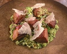 Duck with coriander rice - Peruvian cuisine! Star Michelin Peruvian restaurant in London - Lima Fitzrovia...amazing!