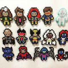 X-Men perler beads by anotherbeer4u