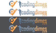 Logo for CodingDimes.com  by djile