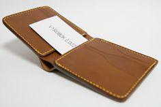 Handmade leather a man´s wallet by Brano Klocan LEATHERCRAFT  Ručne šitá kožená pánska peňaženka Leather Craft, Wallet, Fashion, Leather Crafts, Pocket Wallet, Moda, Fasion, Purses, Diy Wallet