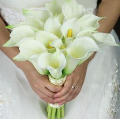 Callia lily bouquet