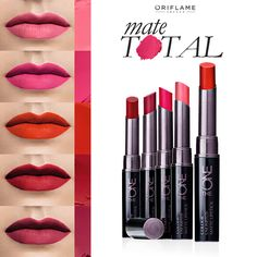 The ONE colour unlimited lipstick . Long wearing, high coverage, ultra-matte Lipstick infused with LipSoft Moisture Plus Complex. Applies smoothly and precisely . DM to place order Pop Art Makeup, Makeup Artist Tips, Diy Makeup Vanity, Beauty Skin, Beauty Makeup, Eye Makeup, Oriflame Beauty Products, Best Makeup Products, Matte Lipstick