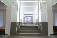 Light + Design - 50 George Street. Reception Lobby Glowing Line of Light