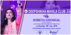 Would you like to rock.., #ShreyaGhosal's Live in Concert in #hyderabad? More details here:http://www.hyderabadevents.com/event/Shreya-Ghoshal-Live-in-Concert-in-Hyderabad