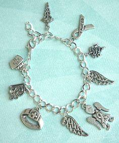 nurse's charm bracelet