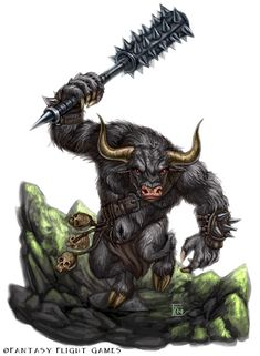 Yea-yea, I know, what do you say: Oh it's Tauren!!! But it's not Tauren. I like WoW but this character for another project.