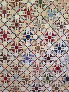 Great scrap quilt from a traditional pattern