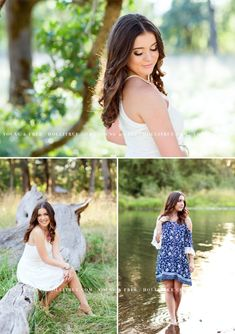 Gorgeous senior pictures in a natural park with Class of 2017 Corvallis senior, Hailey, by Eugene, Oregon Photographer, Holli True
