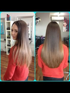 The beautiful Karla came into element hair studio to have her balayage colour done.
