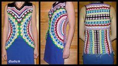 Inspiraciones Croche con Cualquier Lucy: vestido