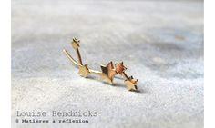 Louise Hendricks bijou d'oreille Etoiles