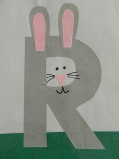 Preschool Letter R @Kristen Bauer