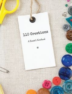 110 Creations: A Sewist's Notebook - Not a pattern exactly, but related...and I WANT.