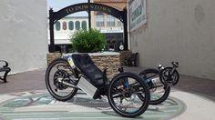 Electric Scorpion by HP Velotechnik from #UtahTrikes #recumbent #trike