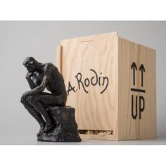 Reproduction miniature du Penseur de Rodin